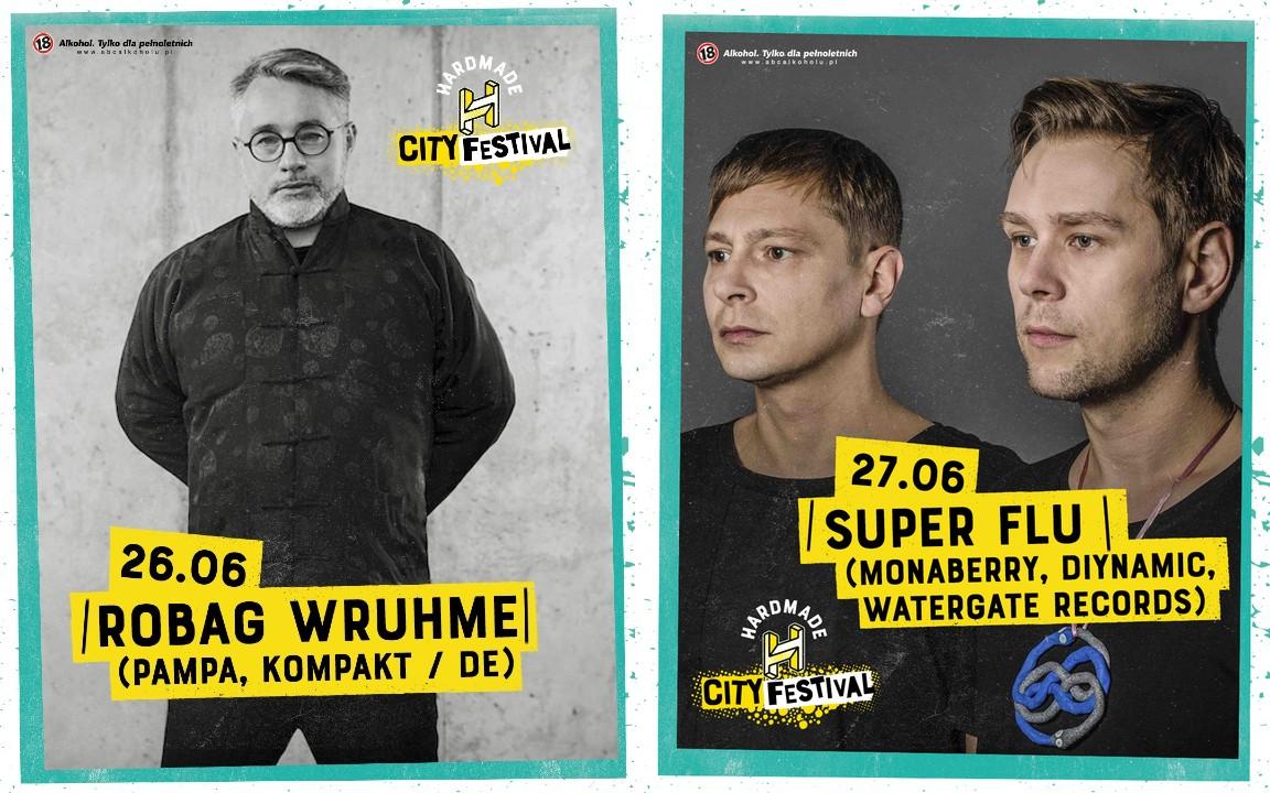 Robag Wruhme iczołówka tech house'owej sceny. NaHardmade City Festival wWarszawie możecie wszystko iniemusicie nic.