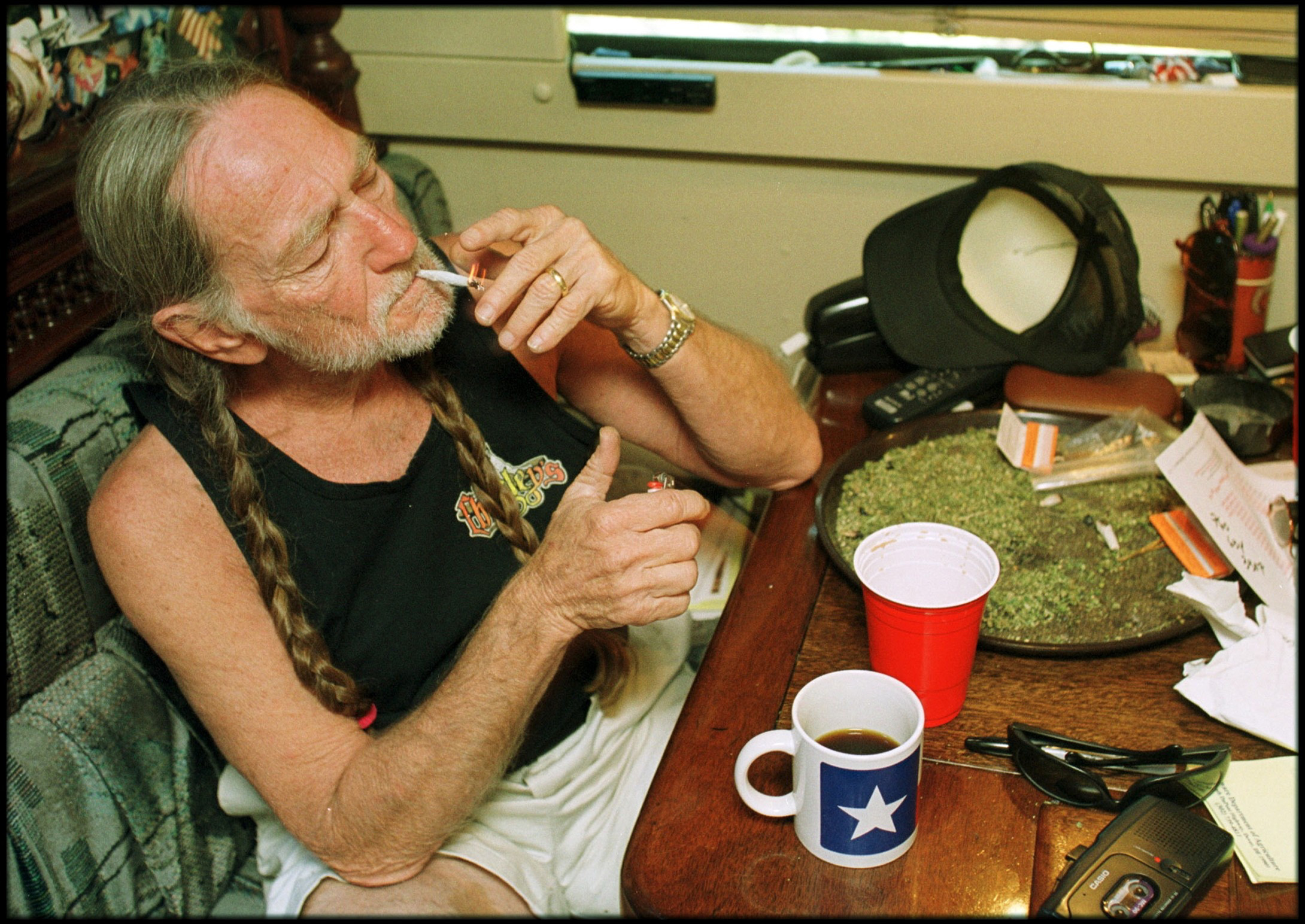 Marihuana nieprzeszkadza wniczym?