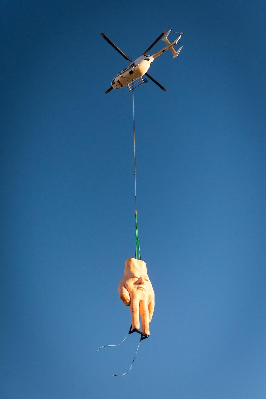 Przedziwna rzeźba ozdobiła nowozelandzką galerię. Mieszkańcy miasta już narzekają nakoszmarne sny