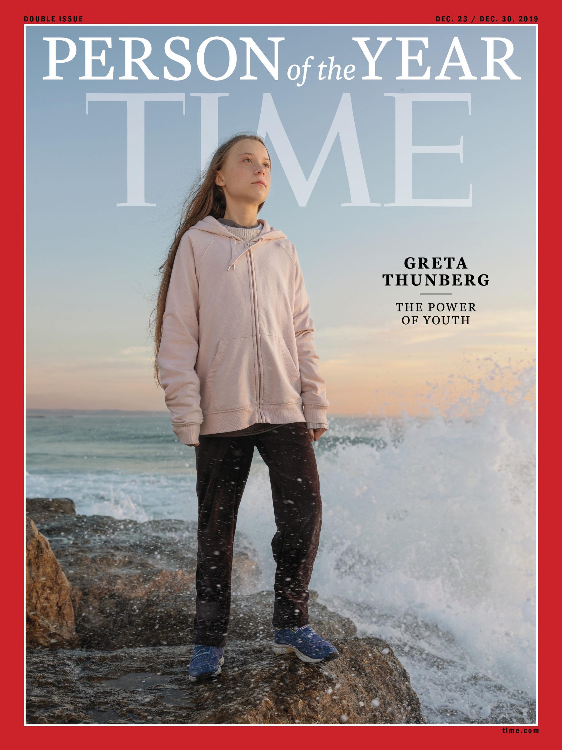 """Greta Thunberg człowiekiem roku 2019 magazynu """"TIME"""""""