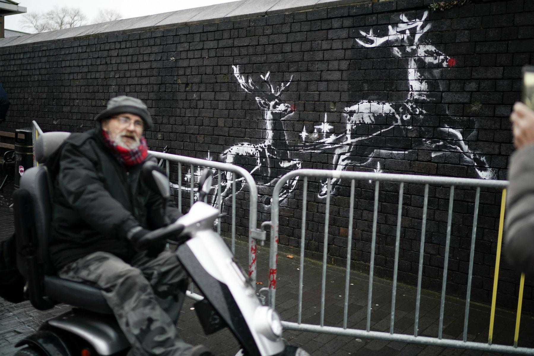 Fotograf Banksy'ego zdradził dlaczego artysta nigdy niezostał aresztowany