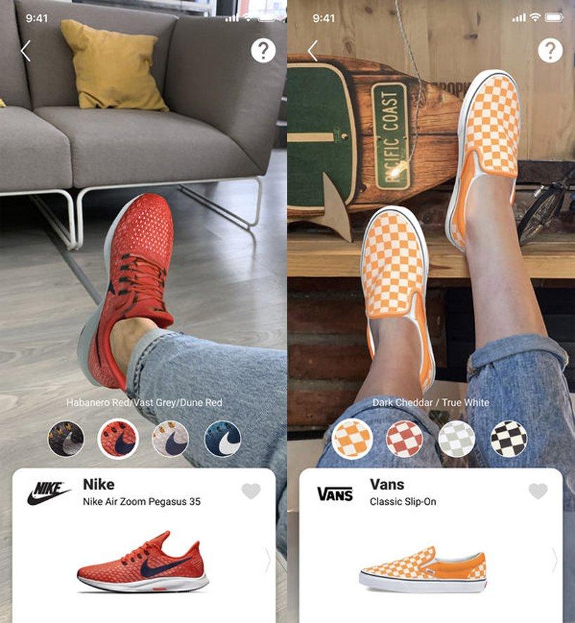 Tak, powstała apka, dzięki którejmożecie przymierzyć buty naekranie telefonu. Korzysta już zniej Gucci