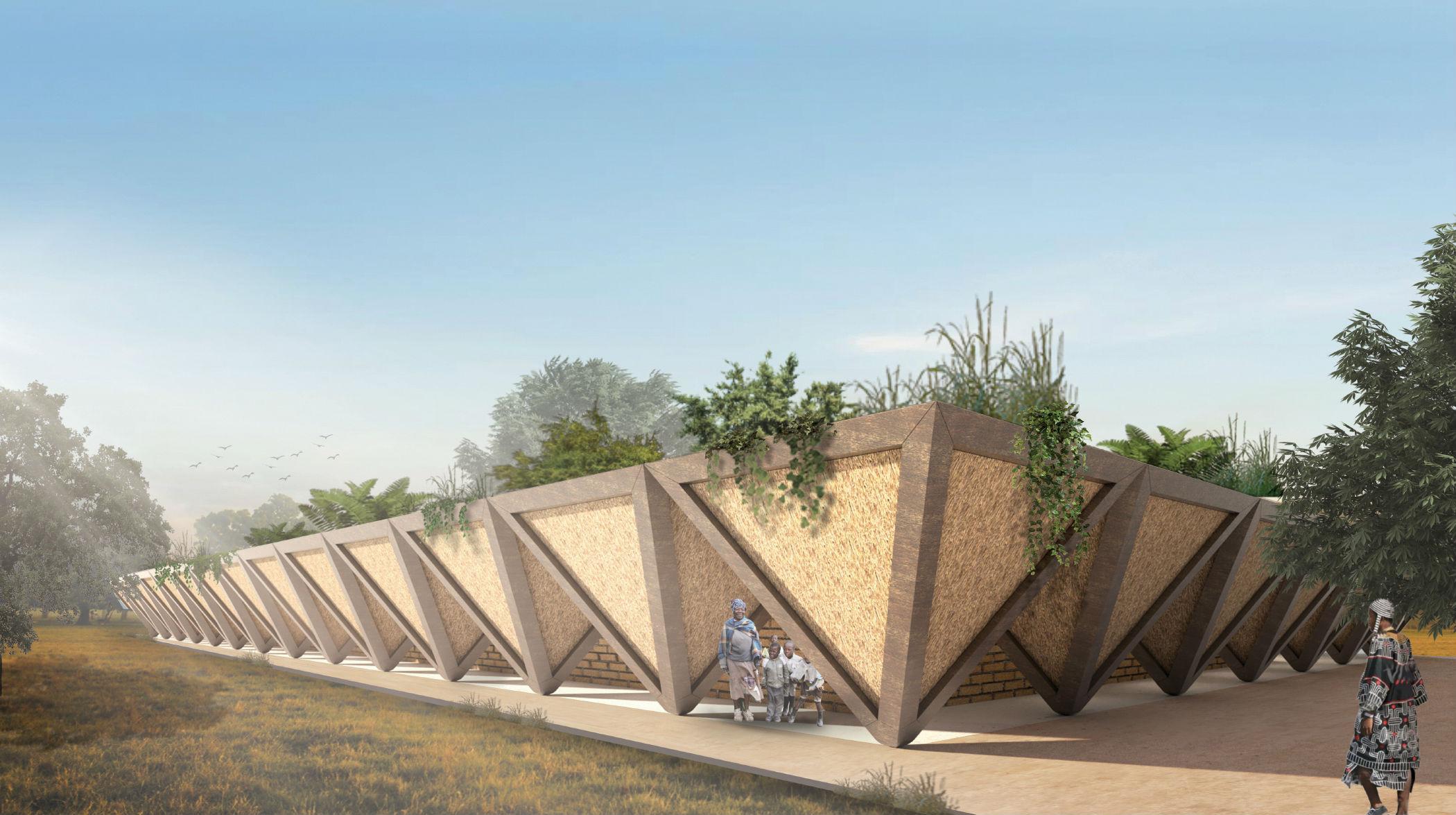 Włoski architekt zaprojektował innowacyjne afrykańskie szkoły. Łatwo je rozbudować
