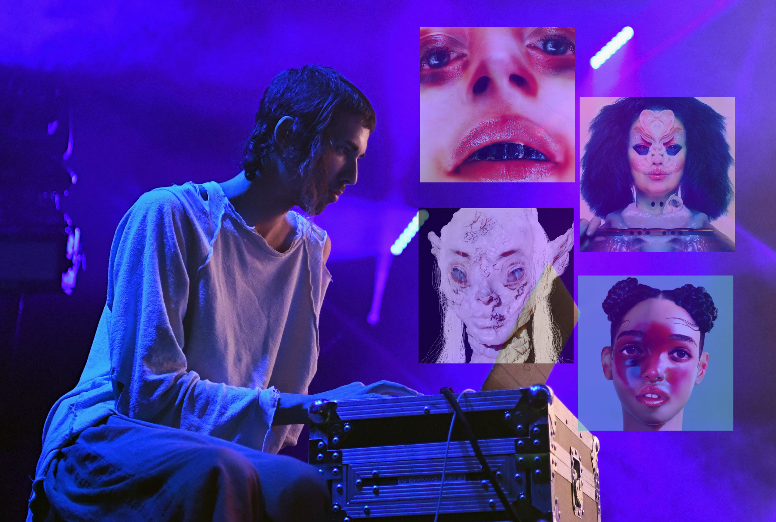 Ciało prawdziwe: Jesse Kanda robił okładki dla Björk, FKA twigs iArci. Sam jednak tworzy innowacyjną muzykę