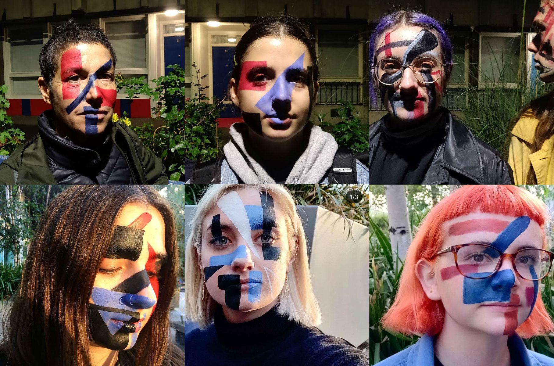 Londyńscy artyści używają make-upu byoszukać system rozpoznawania twarzy