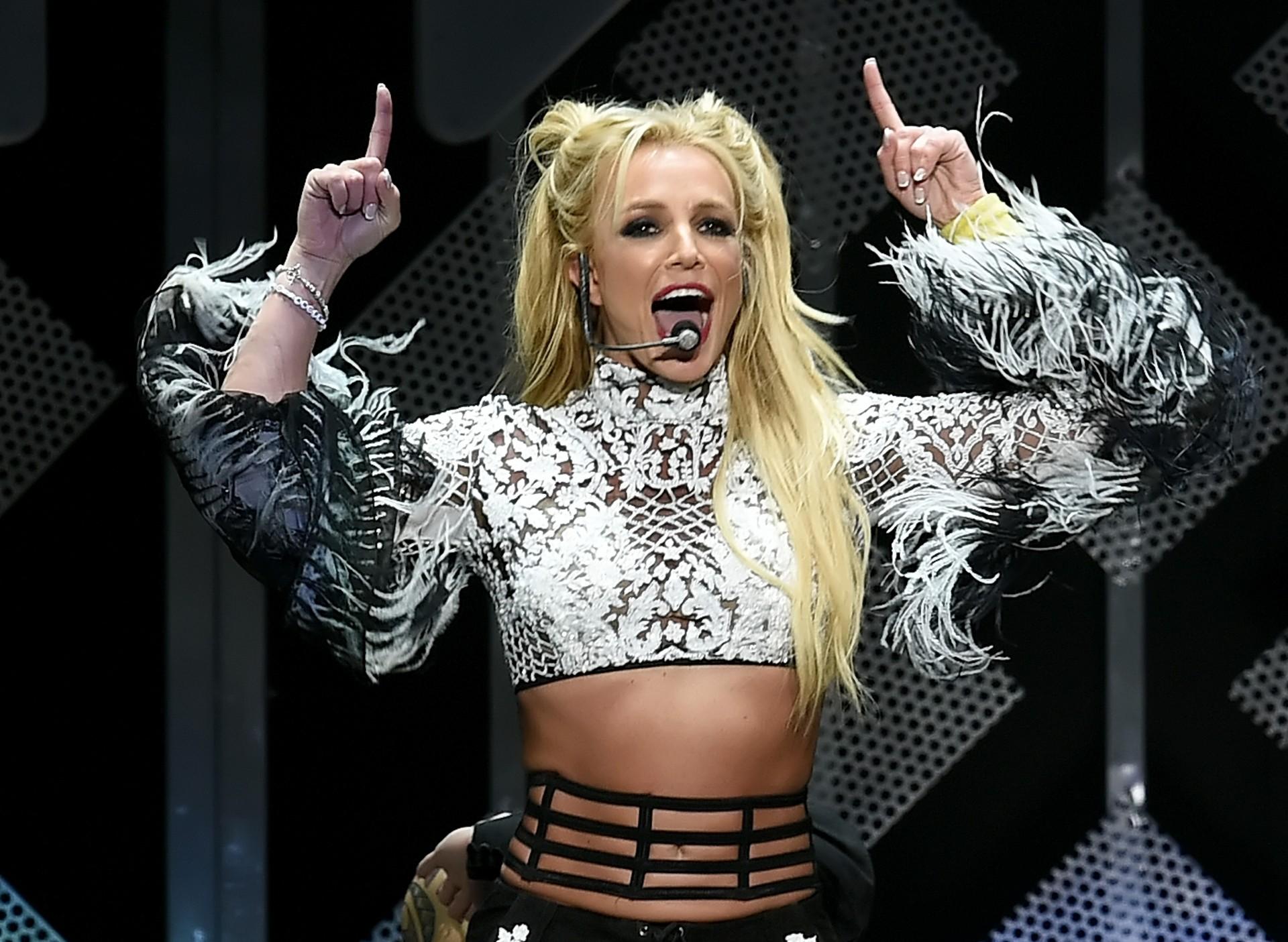 Britney Spears twierdzi, żepobiła rekord świata wbiegu na100 metrów