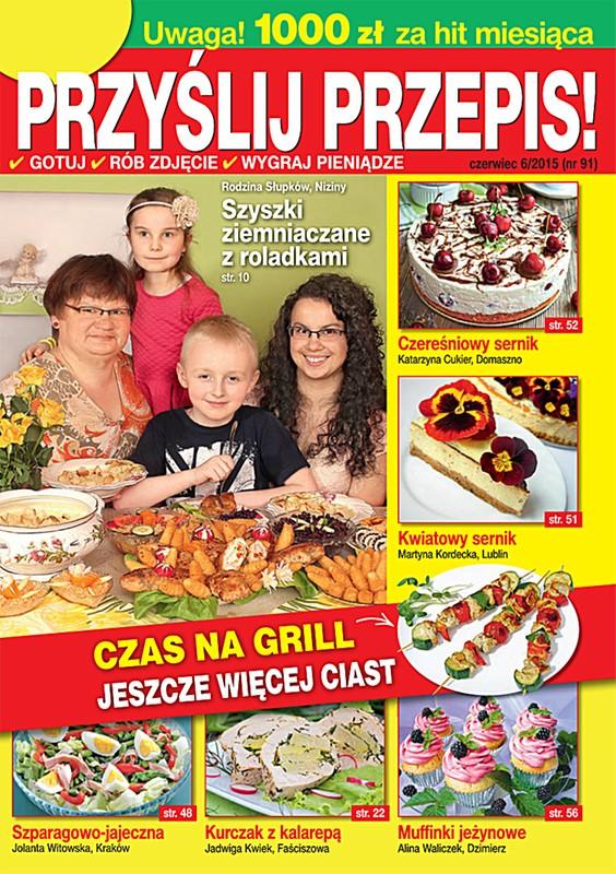 """Egalitarny wymiar magazynu """"PRZYŚLIJ PRZEPIS!"""" – kulinarnej biblii Polaków"""