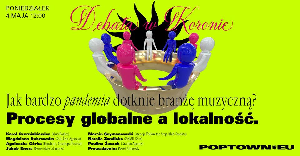 Urządzamy serię debat natemat przyszłości polskiej kultury irozrywki. Najpierw porozmawiamy zfachowcami jak bardzo pandemia dotknie branżę muzyczną