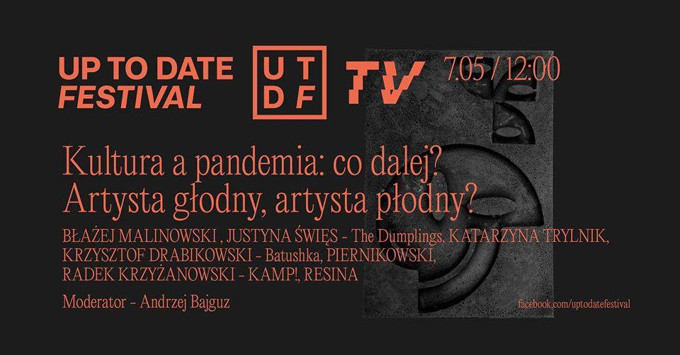 Artysta głodny, artysta płodny? Polscy muzycy przedyskutują todla Up toDate