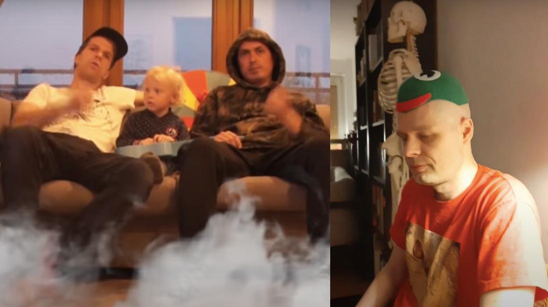Wojciech Bąkowski iNagrobki parodiują rapowy bełkot wswoich #hot16challenge2