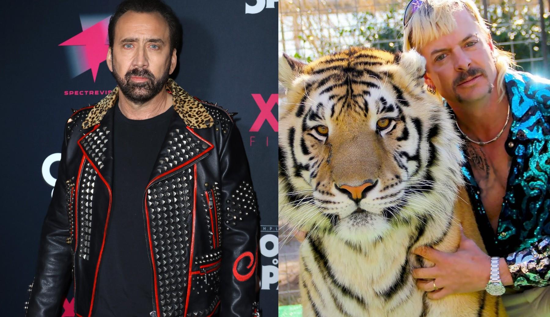 """Nicolas Cage ma zagrać Joe Exotica wserialu fabularnym napodstawie """"Tiger King"""""""