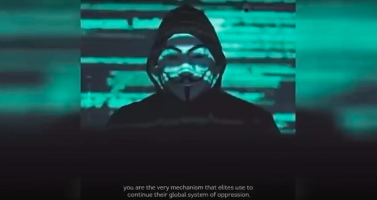 Anonymous wrócili iwnowym wideo idą nawojnę zpolicją orazwładzami USA