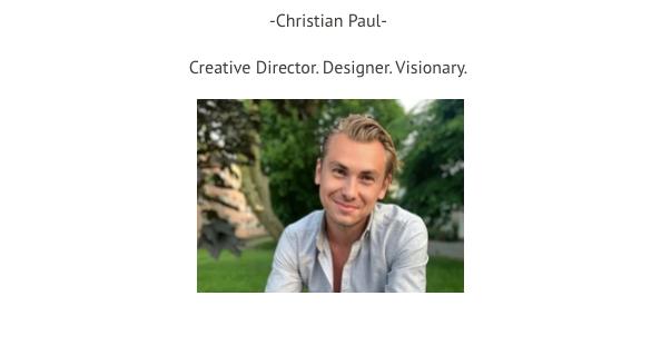 Christian Paul jednak istnieje. Projektant zrobił się mocno aktywny wsieci pomateriale TVP