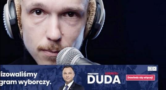 Odezwa Krzysztofa Gonciarza doAndrzeja Dudy wsprawie LGBT zarobiła nareklamach Prezydenta. Youtuber przekaże pieniądze napomoc mniejszościom