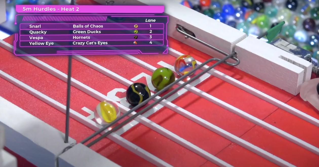 Otchłań Youtube'a: Wyścigi szklanych kulek tojedyny sport godny 2020 roku