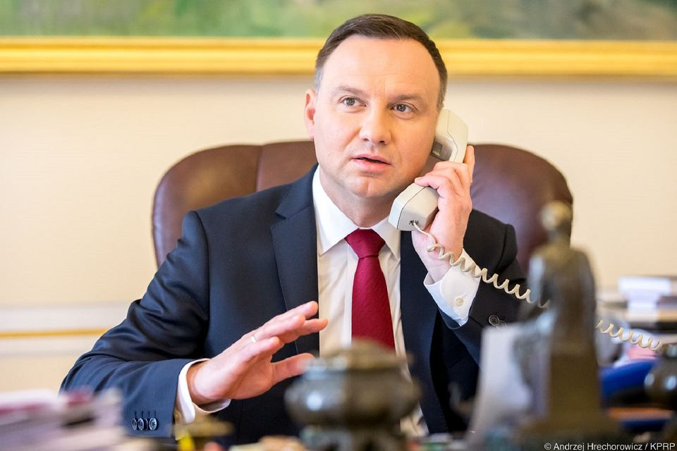 Andrzej Duda wkręcony przezrosyjskich youtuberów. Myślał, żedzwoni szef ONZ
