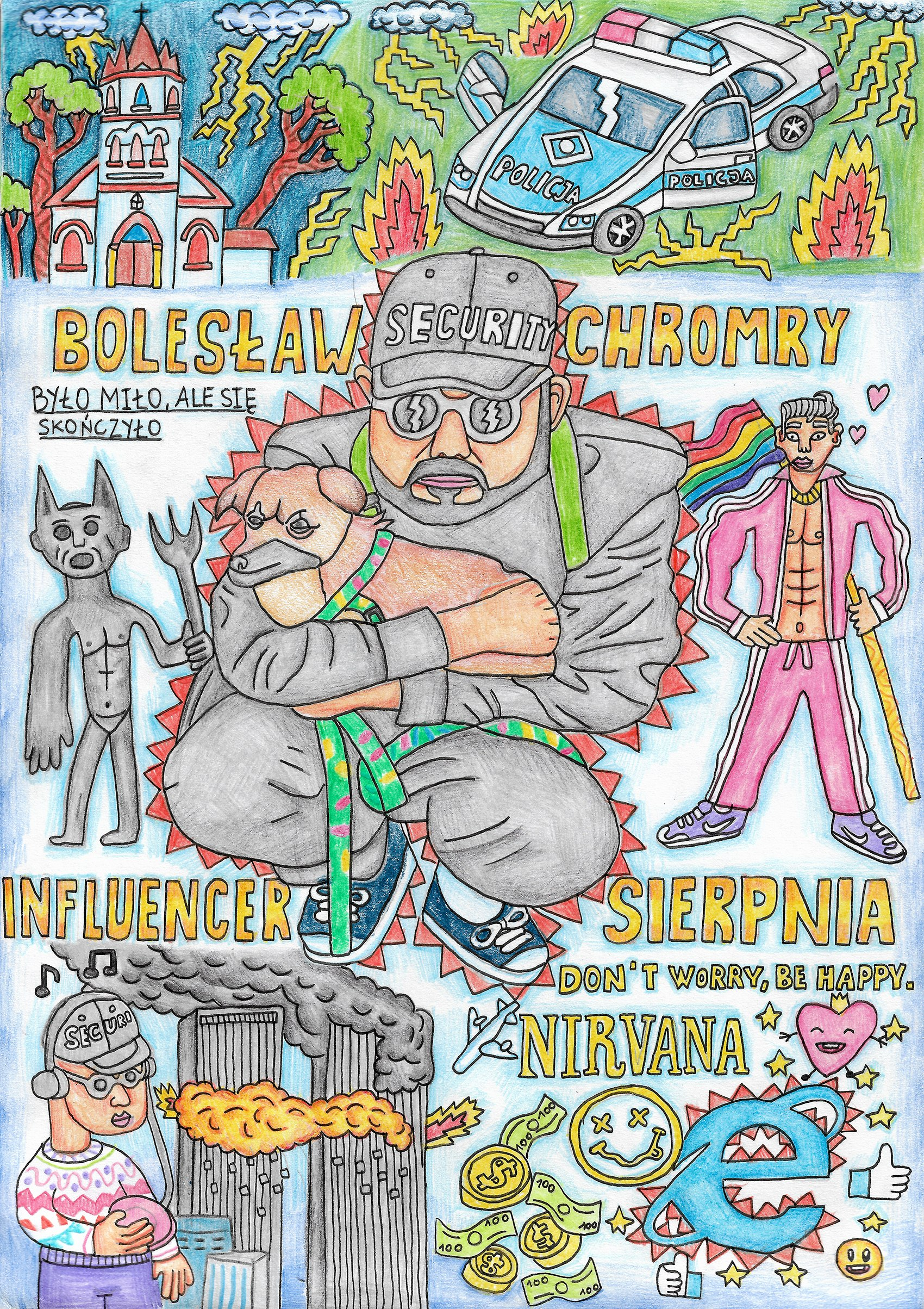 Bolesław Chromry: Człowiek zkomiksu