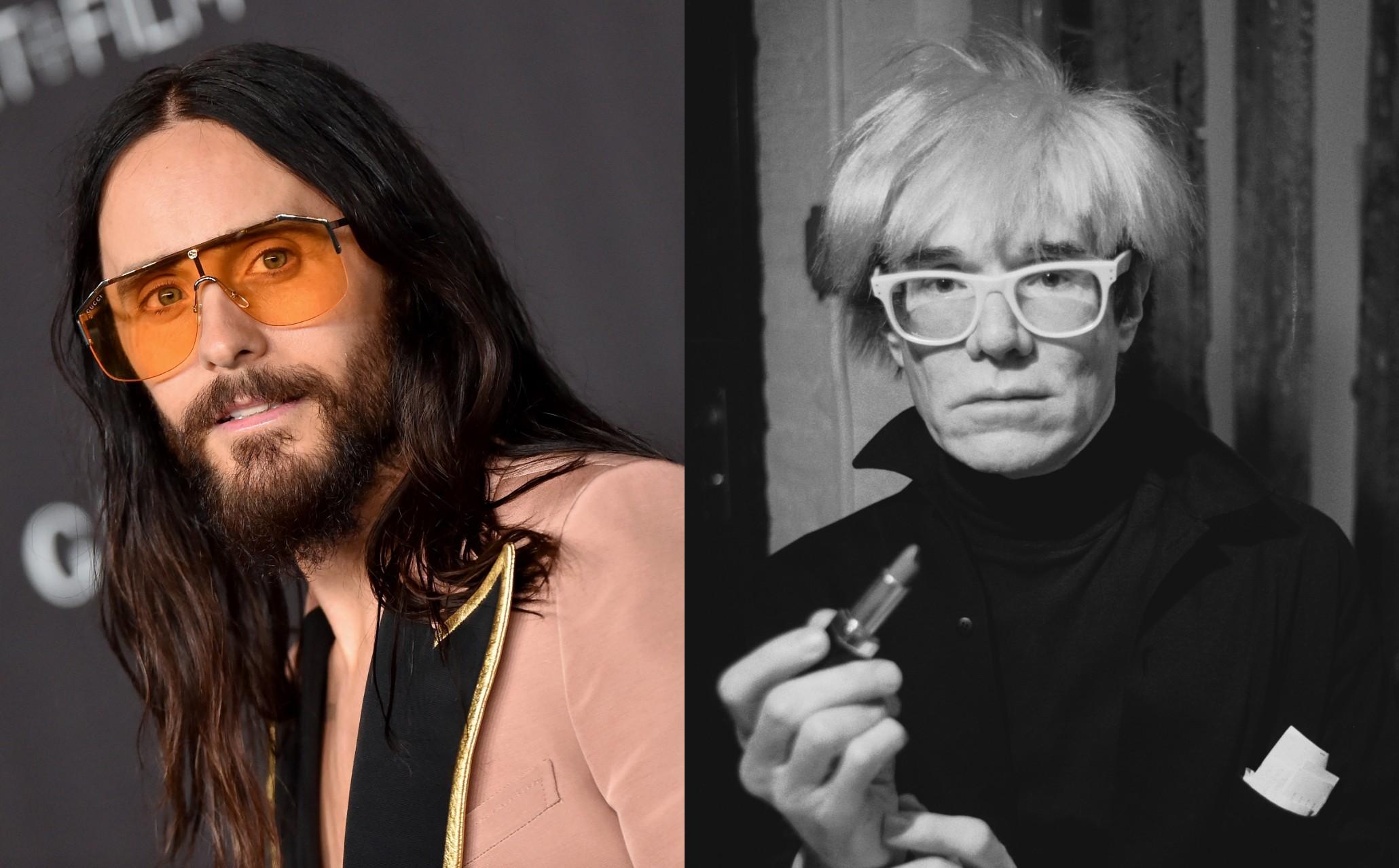 Jared Leto potwierdza, żezagra Andy'ego Warhola wfilmie biograficznym