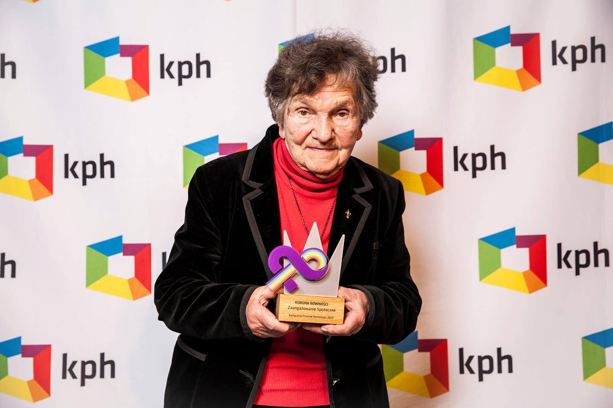 KPH przyznało Korony Równości osobom wspierającym społeczność LGBTQ+