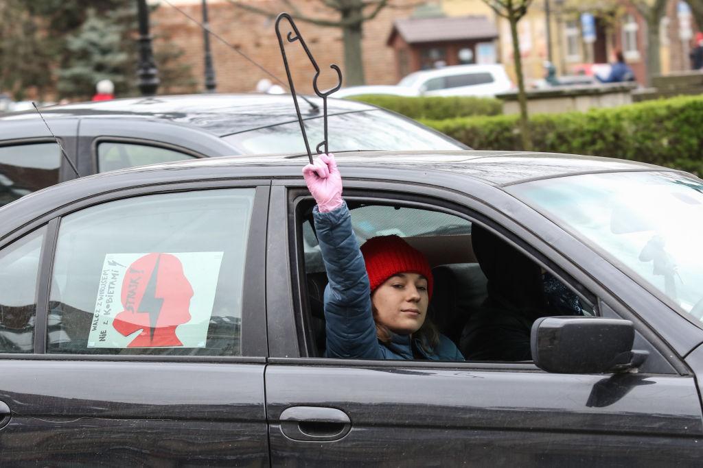 Zakaz aborcji wTrybunale Konstytucyjnym. Jak protestują Polki?