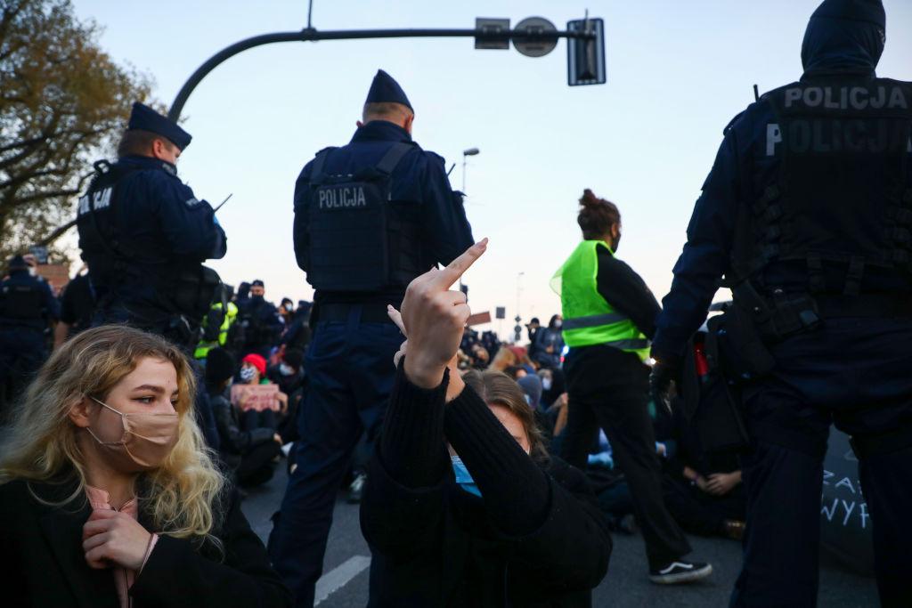 Przebudzenie polityczne młodych? Protesty wobronie praw kobiet.