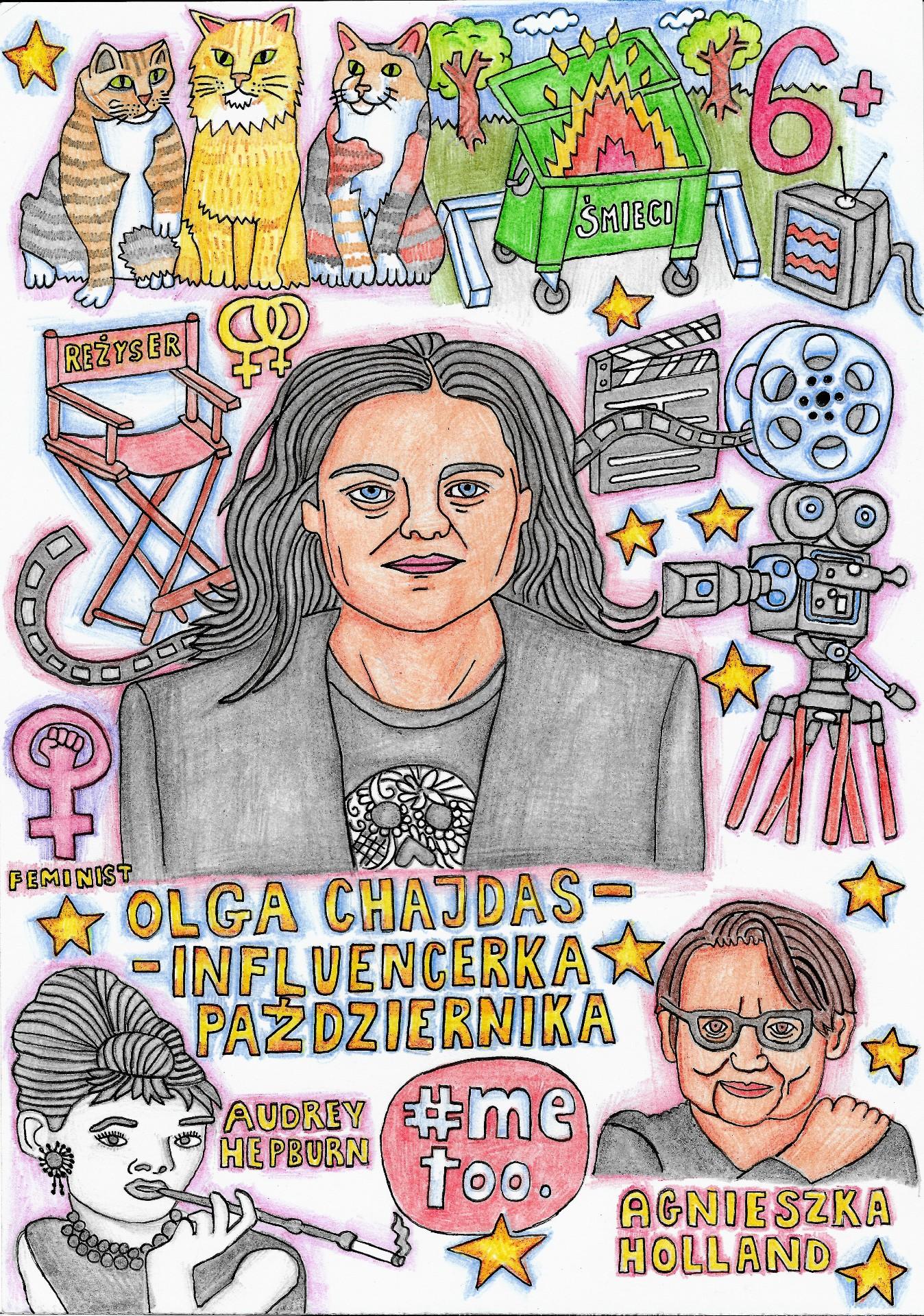 """Olga Chajdas: """"Przecedzamy naszych bohaterów przezsito PC, #metoo, gender studies. Bronimy ich, zanim zdążą coś zepsuć"""""""