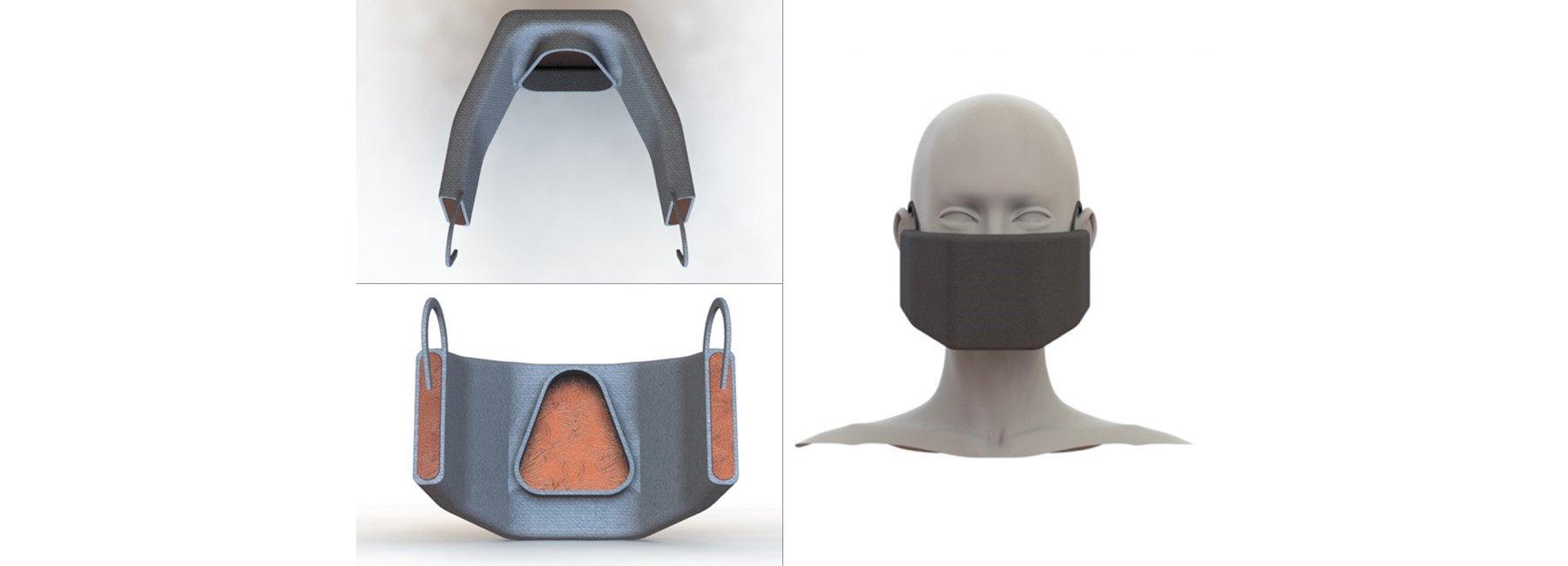 Zespół badawczy zMIT zaprojektował maskę podgrzewającą koronawirusa