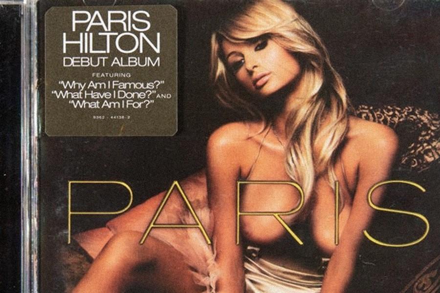 Paris Hilton chce odkupić odBanksy'ego fejkową wersję swojej płyty