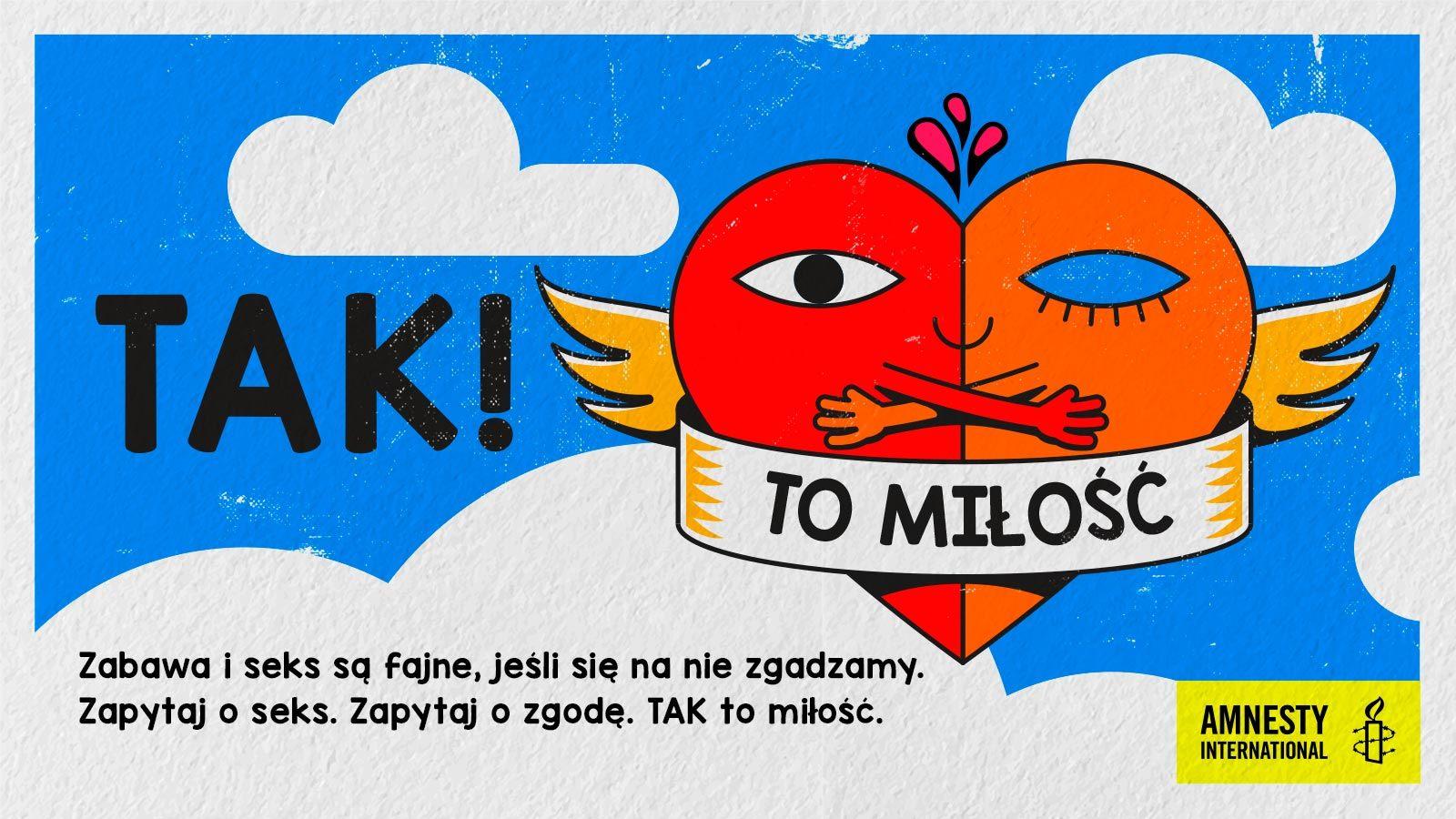 Badanie Amnesty International: Polki iPolacy popierają zmiany wprawie dotyczące definicji gwałtu (isą zadowoleni zeswojego życia seksualnego)
