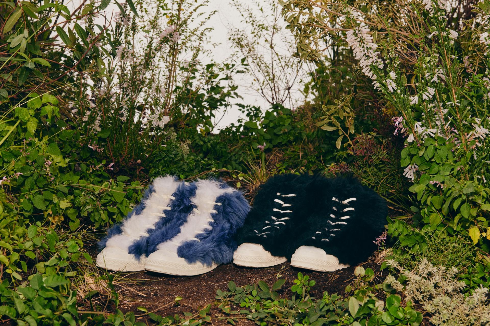 Converse iAmbush prezentują szalone, włochate sneakersy. Inietylko