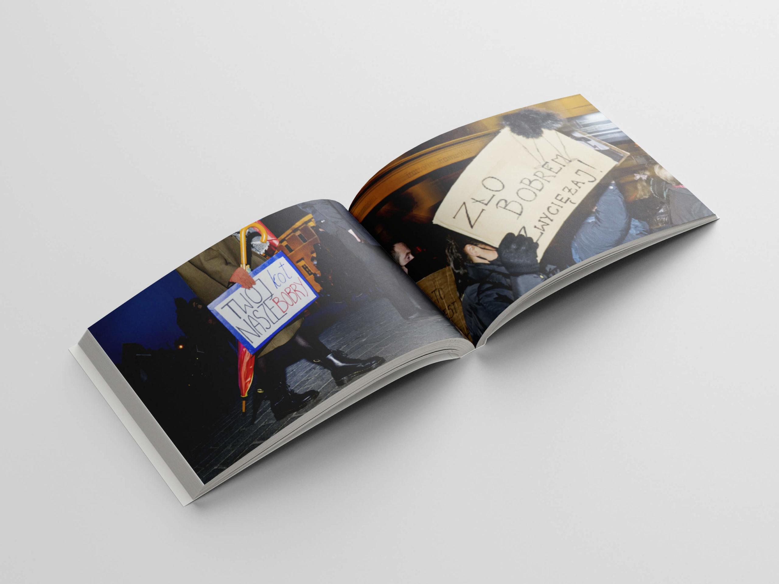 Zło bobrem zwyciężaj: Ukazał się album ztransparentami zestrajków kobiet
