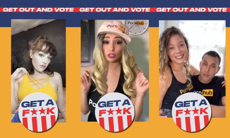 Dziś zPornHuba wUSA mogą korzystać tylko ci, którzyzagłosują wwyborach