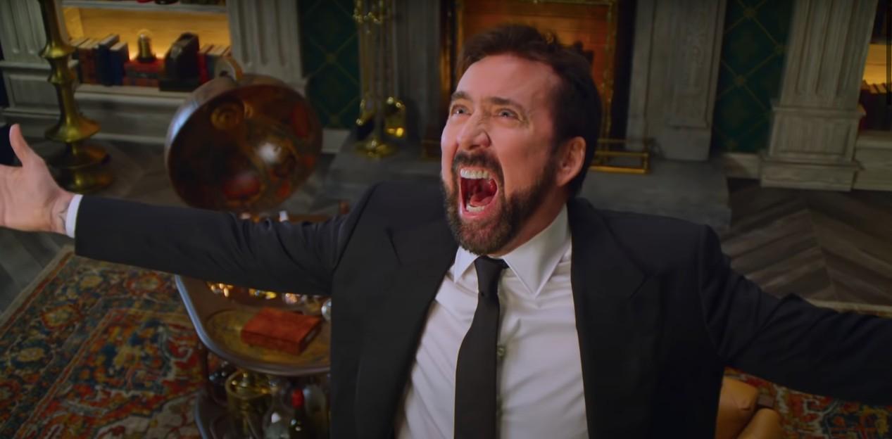Nicolas Cage poprowadzi dla Netflixa serial ohistorii przeklinania. Jest trailer