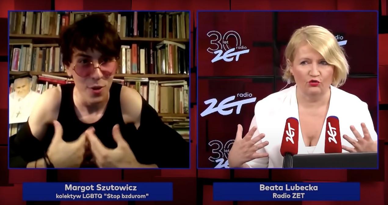 Wywiad Beaty Lubeckiej zMargot nominowany doGrand Press. Tylkozaco?