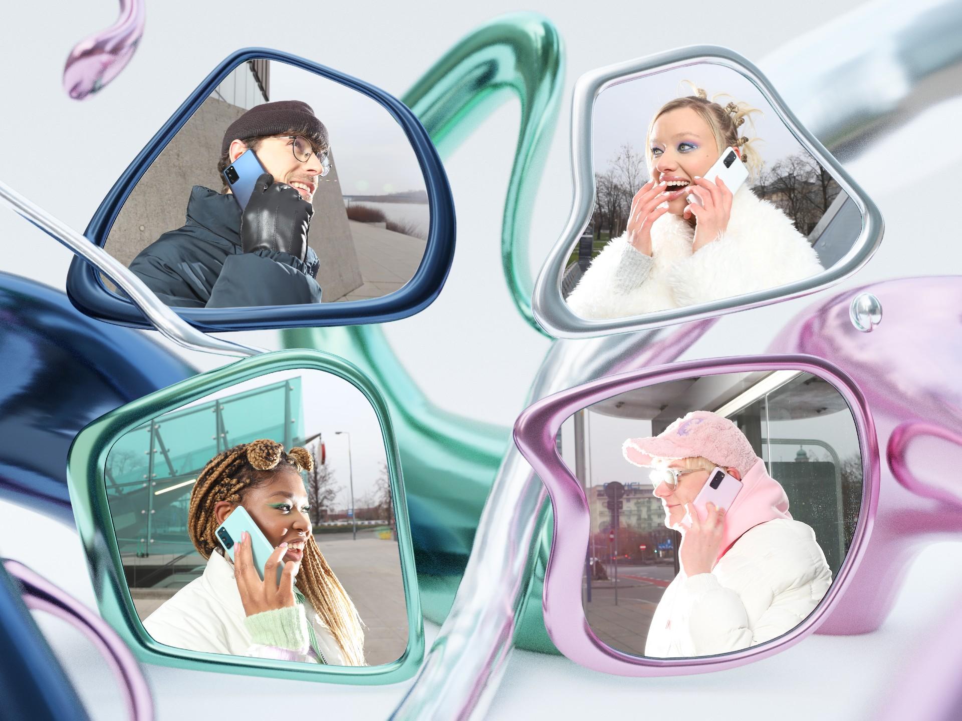 Natchnij się izrealizuj swoje zajawki znowym smartfonem Galaxy S20 FE 5G marki Samsung iobczaj naszą ligę influencerów