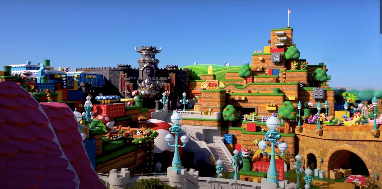 Park rozrywki Nintendo wygląda niesamowicie. Ima datę otwarcia