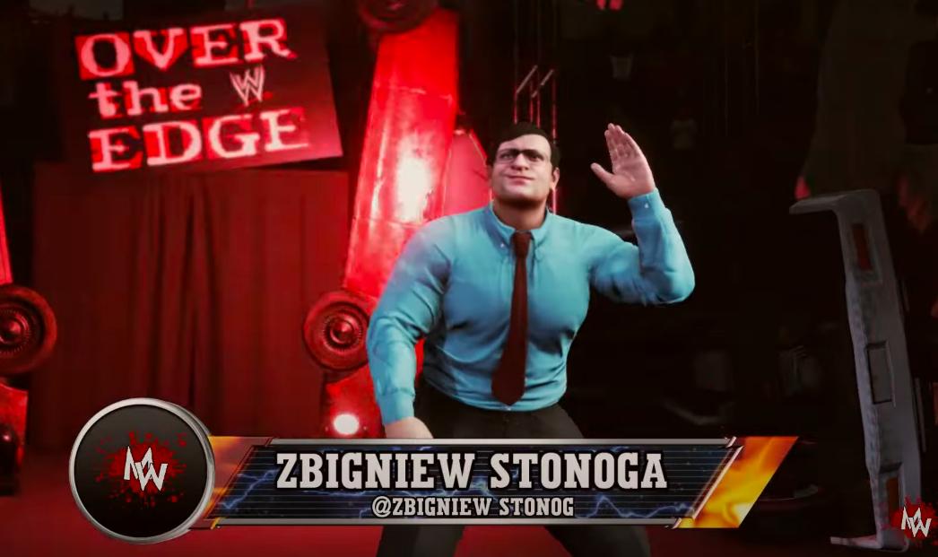 Ktoś zaaranżował walkę wrestlingową Zbigniewa Ziobry iZbigniewa Stonogi wgrze wideo