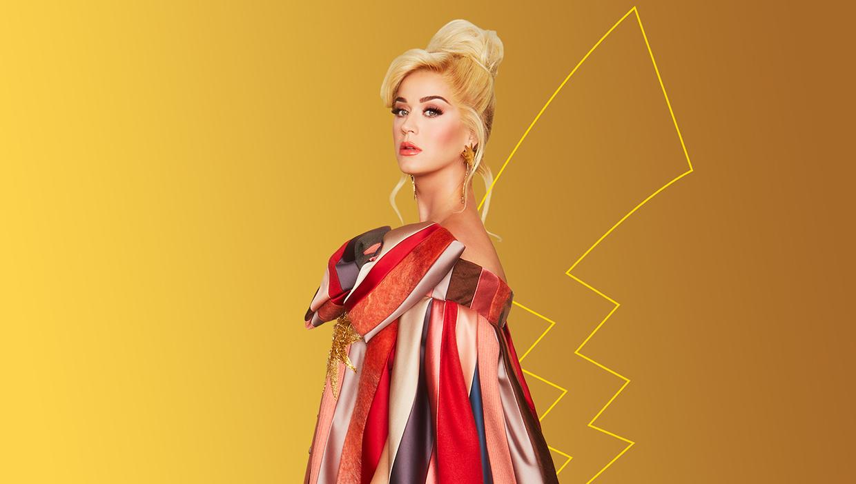 Katy Perry została oficjalną ambasadorką Pokémonów