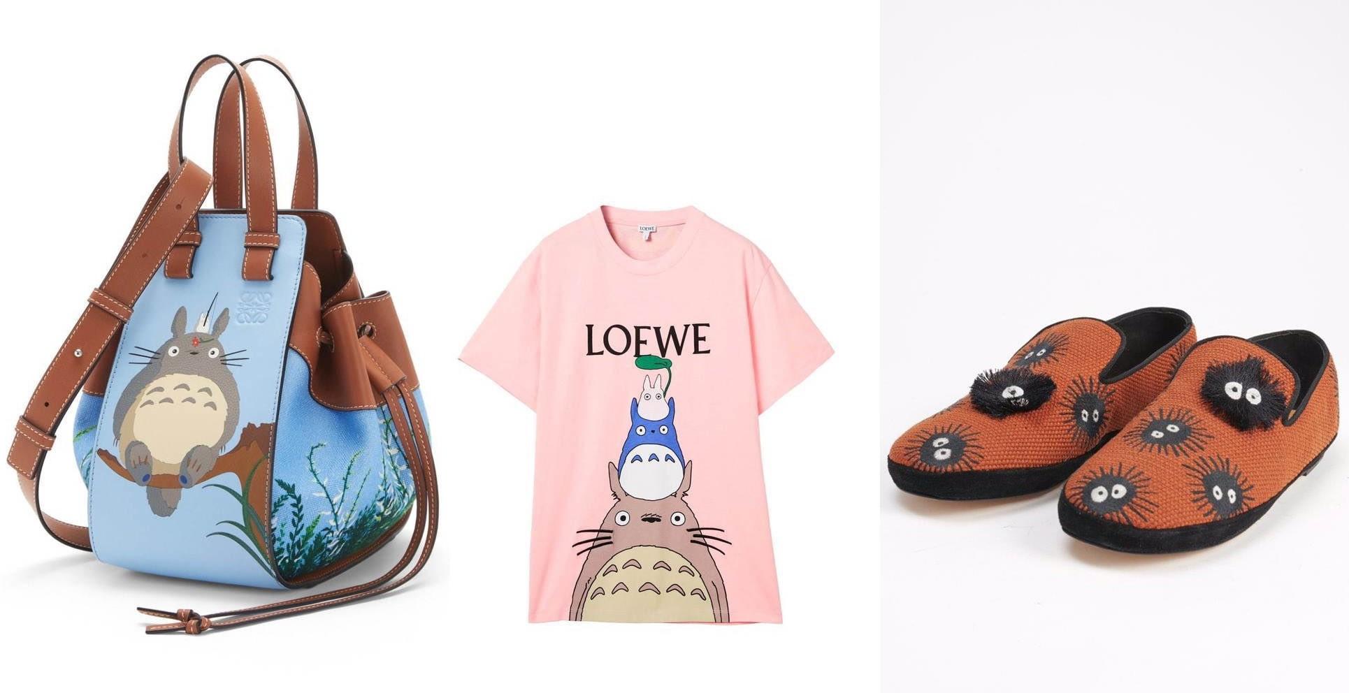 """LOEWE iStudio Ghibli wypuszczają kolekcję poświęconą """"Mójsąsiad Totoro"""""""