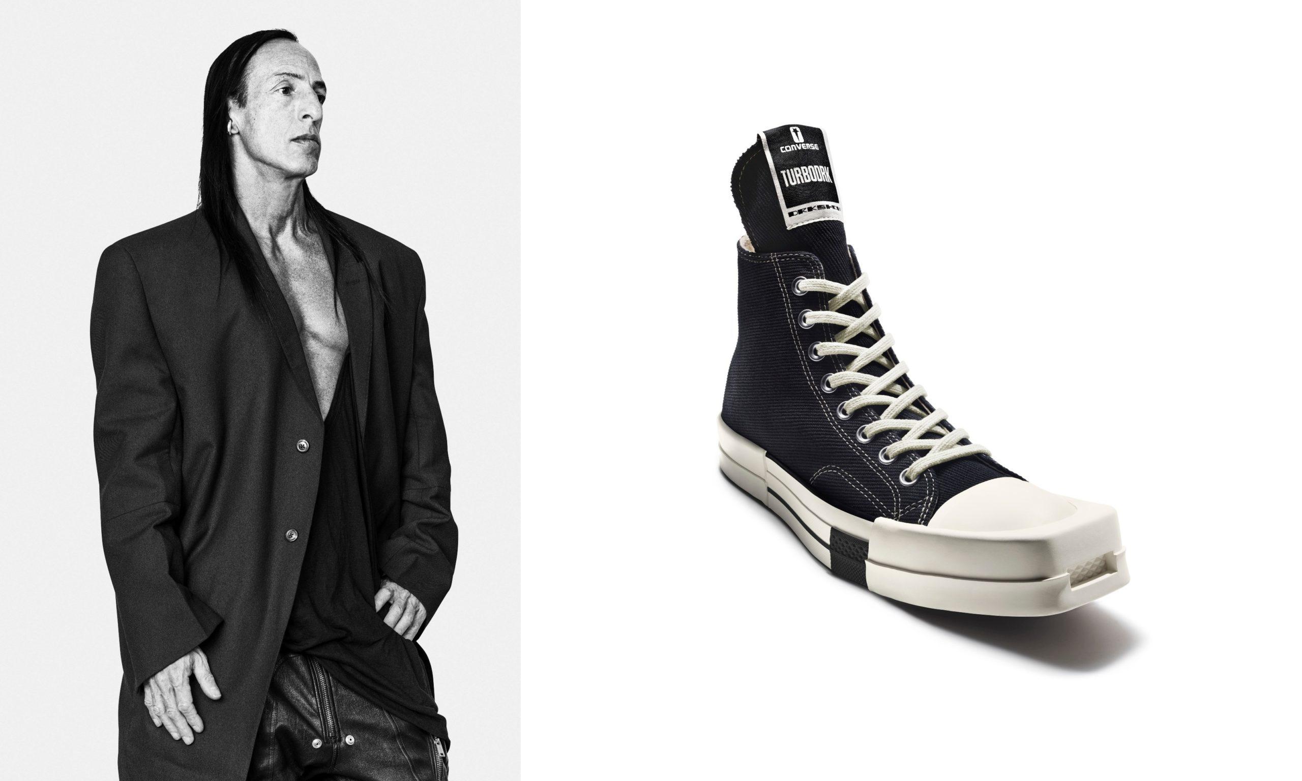 Rick Owens zaprojektował buty dla Converse – TURBODRK Chuck 70