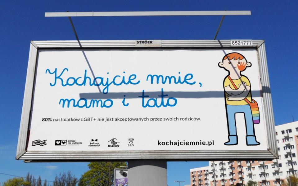 Antyhomofobiczne billboardy wcałej Polsce. Kaja Godek striggerowana