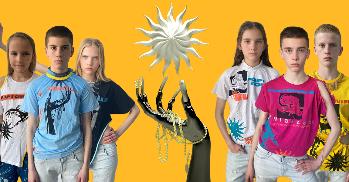 Otwieramy wirtualny butik Poptown imamy koszulki – każda inna, każda ładna idziwna