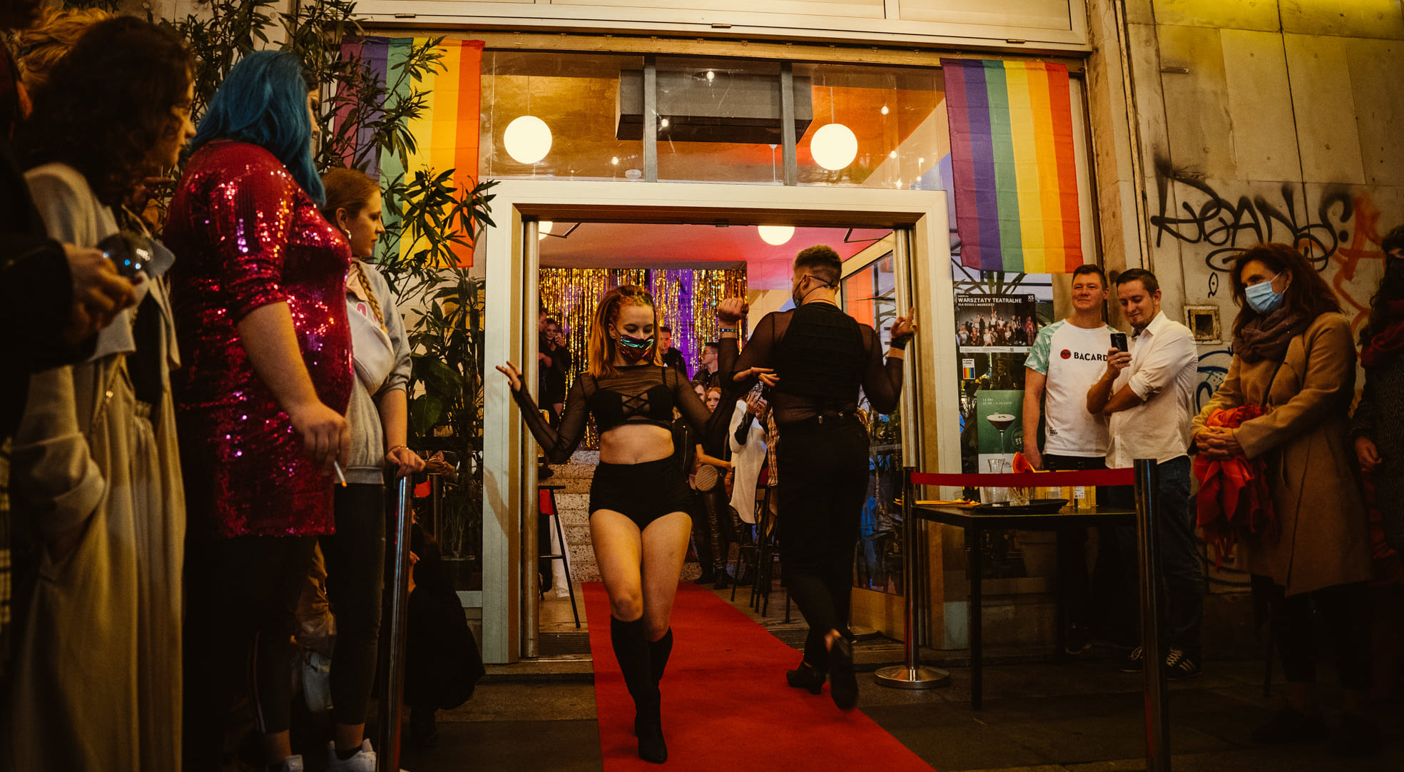 Queerowy weekend wWarszawie: odsceny Coming Out poLGBT Film Festival