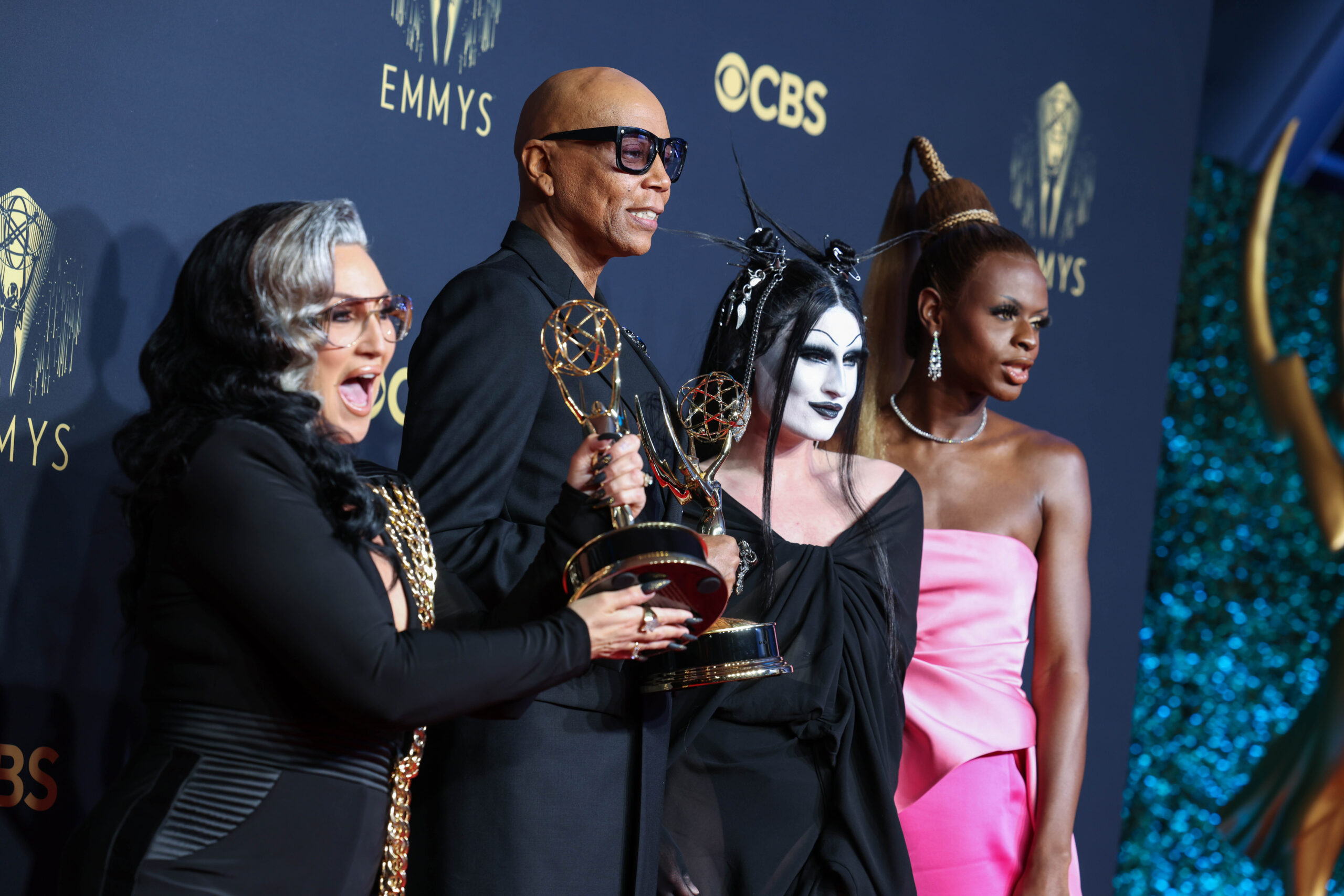 Nagrody Emmy białe jak zawsze, aleRuPaul przejdzie dohistorii