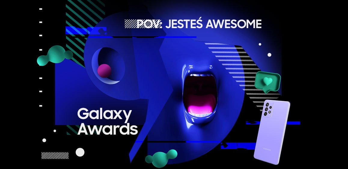 Poznajcie nominowanych doSamsung Galaxy Awards